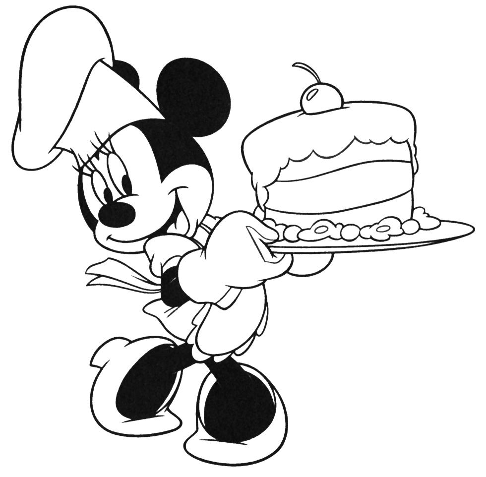 minnie torta compleanno