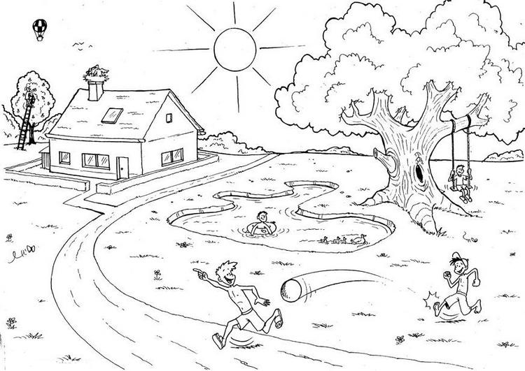 Disegni maestra mary for Paesaggi semplici da disegnare