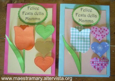 Festa della mamma lavoretti maestra mary for Lavoretti natale scuola infanzia maestra mary