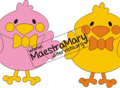 Pasqua Addobbi: pulcino, uova