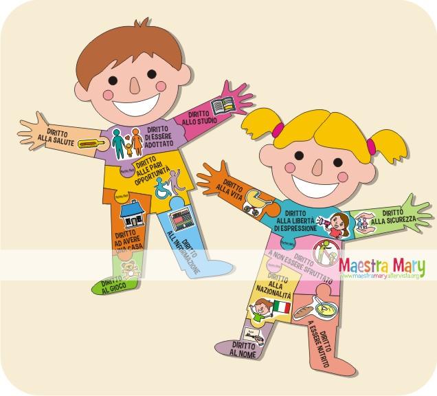 Connu I Diritti dei Bambini | Maestra Mary YV16