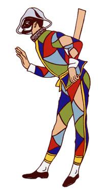 Carnevale maschere della tradizione italiana maestra mary for Arlecchino disegno da stampare