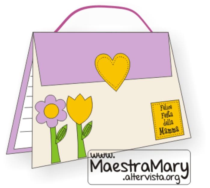 Festa della mamma biglietti lavoretti maestra mary for Lavoretti natale scuola infanzia maestra mary
