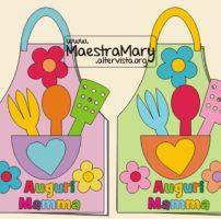 Festa della Mamma biglietto lavoretto