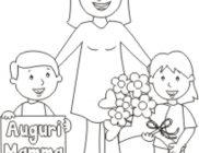 Festa della Mamma disegni da colorare
