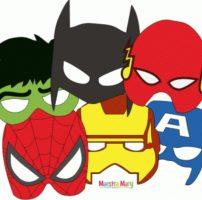 Maschere dei supereroi