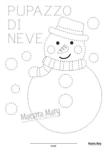 Disegni Da Colorare Inverno Maestra Gemma