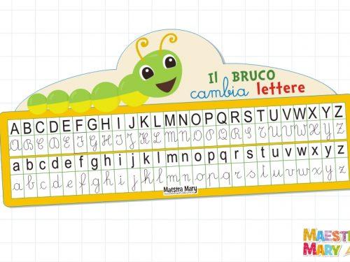 Il bruco cambia lettere