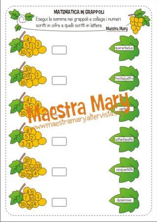 schede di matematica classe 3