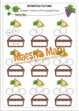 Schede Didattiche Di Matematica Maestra Mary