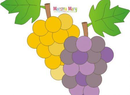 Lavoretto autunno – grappolo d'uva