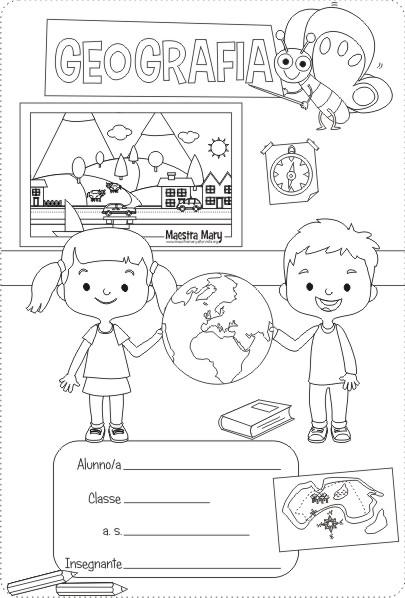 copertina geografia scuola