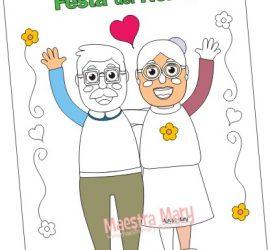 Festa dei nonni – Disegni da colorare