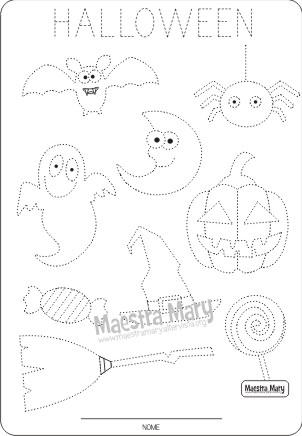 pregrafismo halloween