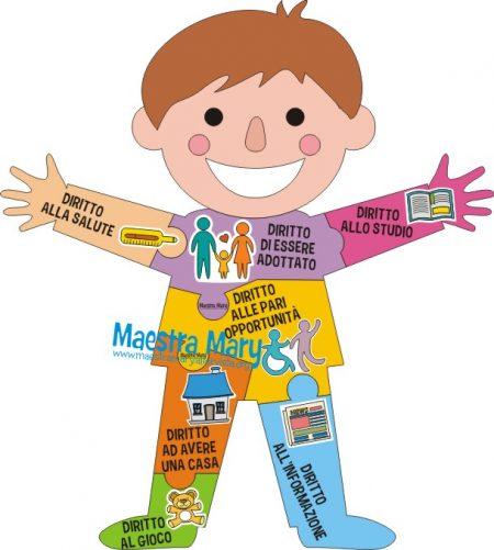 tessere diritti dei bambini