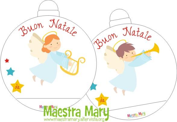 Chiudipacco di natale maestra mary for Addobbi natalizi maestra mary