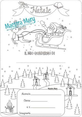 Immagini Di Copertina Di Natale.Copertine Di Natale Per Quaderni Maestra Mary