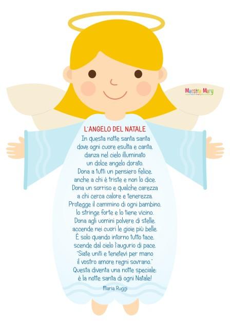 poesia angelo del natale