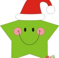Decorazioni con stelle di Natale