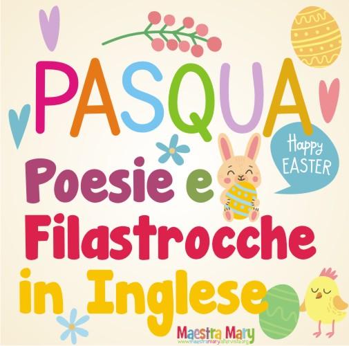 Poesie e filastrocche di pasqua in inglese maestra mary for Maestra mary giornata della terra
