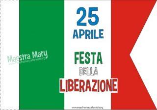 bandierina festa della liberazione
