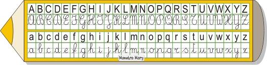 matita dei 4 caratteri