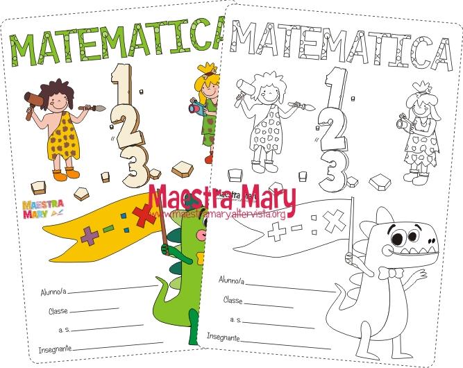 copertina di matematica