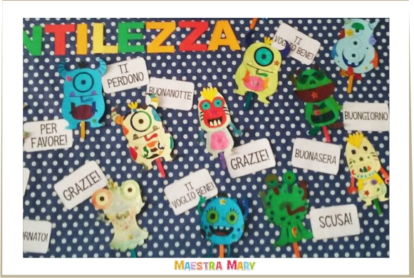 progetto sulla gentilezza scuola primaria