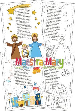 La Stella Di Natale Poesia.Poesie E Filastrocche Di Natale Maestra Mary