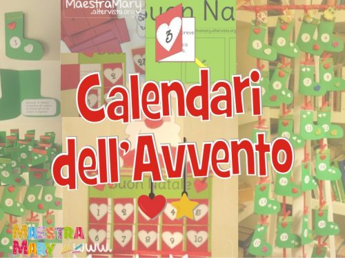 Calendari dell'Avvento fai da te