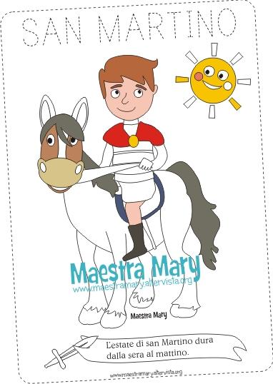 Schede Didattiche Di San Martino Maestra Mary