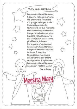 Le Piu Belle Poesie Di Natale Scuola Primaria.Poesie Di Natale Maestra Mary