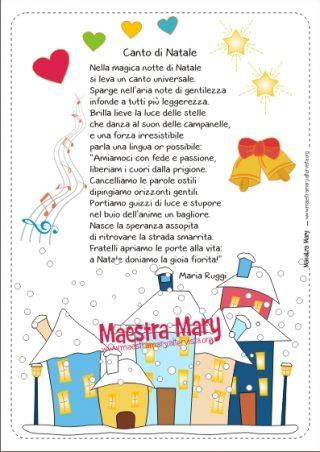 Poesie di natale maestra mary for Lavoretti di natale maestra mary