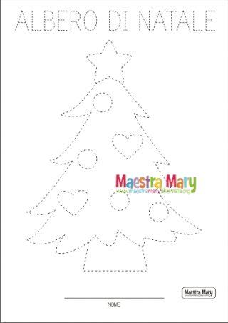 Disegni Di Natale Maestra Mary.Schede Di Pregrafismo Di Natale Maestra Mary