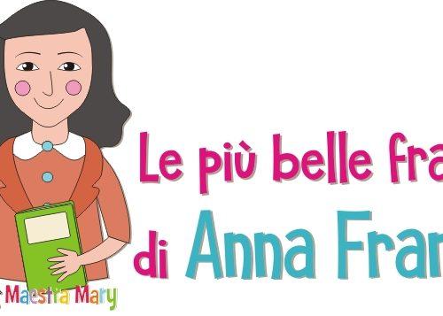 Le più belle frasi di Anna Frank