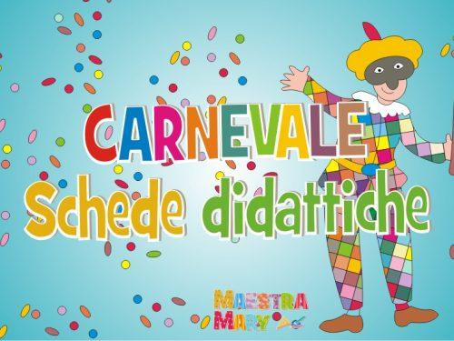 Schede didattiche di Carnevale