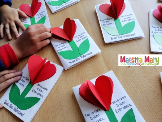 biglietto san valentino per bambini