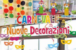 decorazioni di carnevale