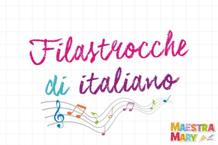 filastrocche di italiano