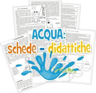 acqua schede didattiche
