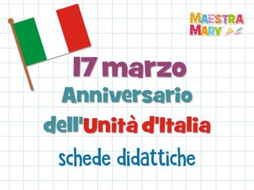 Anniversario dell'Unità d'Italia – 17 marzo
