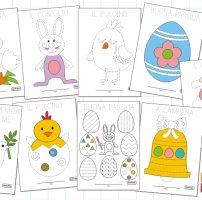 Schede di pregrafismo di Pasqua