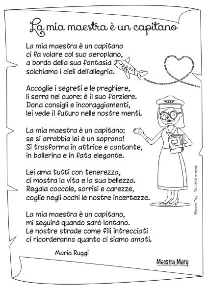 poesia maestra maria ruggi
