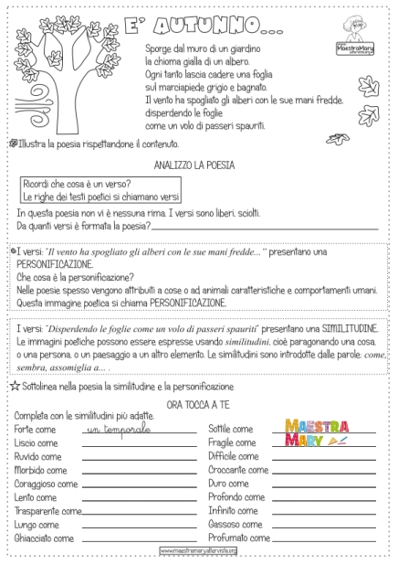 scuola primaria italiano