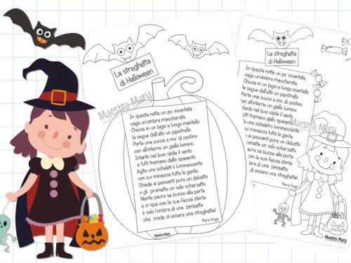 Filastrocca – La streghetta di Halloween