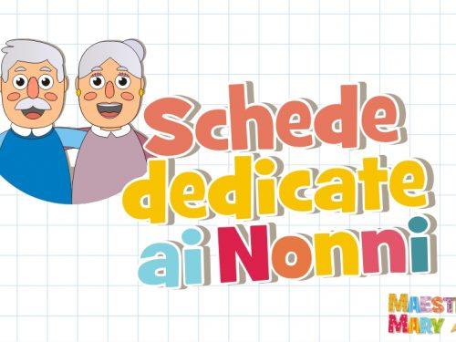 Schede didattiche dedicate ai nonni