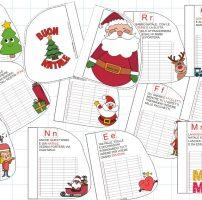 Il libretto dell'Alfabeto di Natale