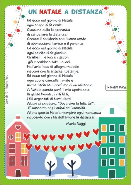 Le Piu Belle Poesie Di Natale Scuola Primaria.Poesie E Filastrocche Di Natale Maestra Mary