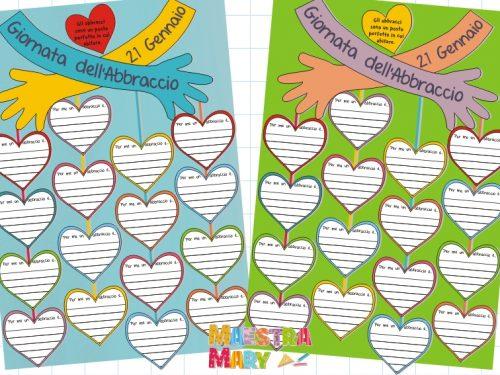 Cartellone dell'Abbraccio