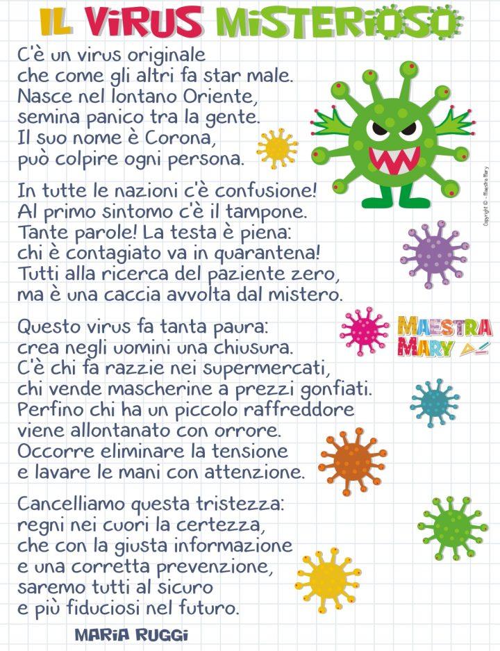 filastrocca coronavirus maria ruggi